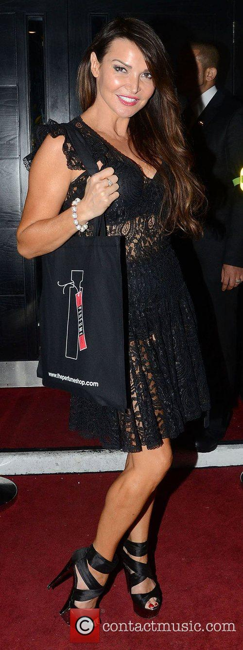 Lizzie Cundy,  at the Love Perfume Awards...