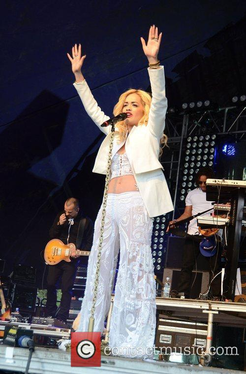 Rita Ora Lovebox festival at Victoria Park -...