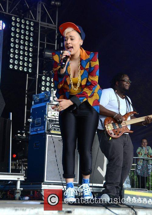 Stooshe Lovebox festival at Victoria Park - Day...