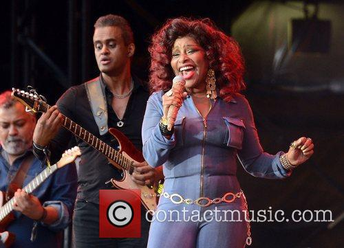 Chaka Khan  Lovebox festival at Victoria Park...