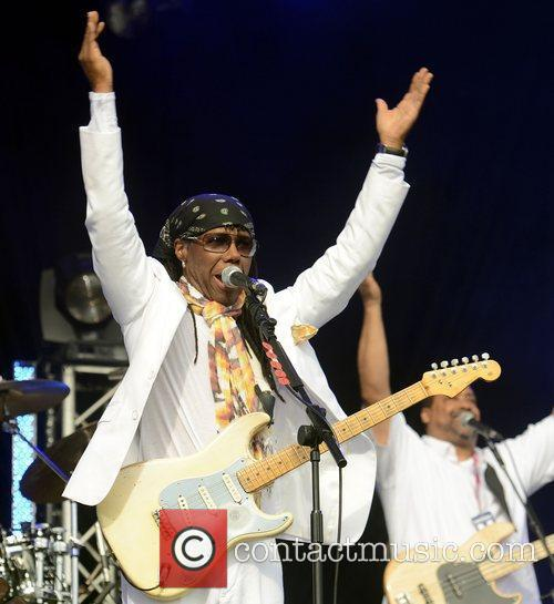 Nile Rodgers and Chic Lovebox festival at Victoria...