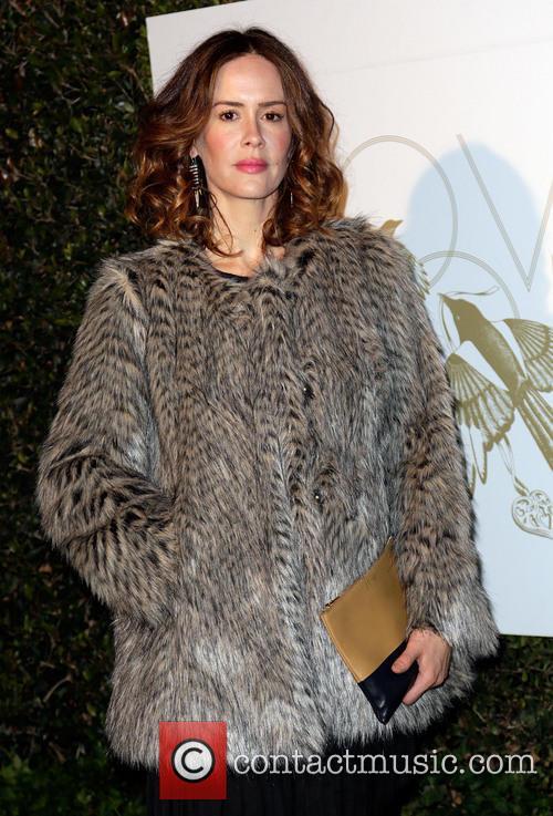Sarah Paulson LoveGold party celebrating 2013 Golden Globe...