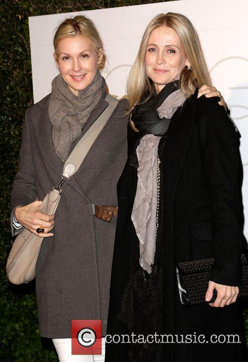 Kelly Rutherford and Kelly Rowan