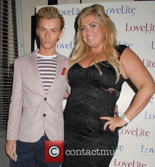 Harry Derbidge and Gemma Collins,  LoveLite launch...