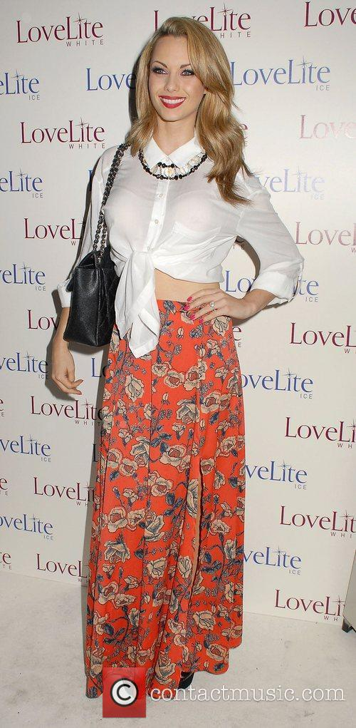 Jessica-Jane Clement,  LoveLite launch party at the...