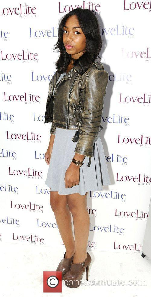 Zaarah Abrahams,  LoveLite launch party at the...
