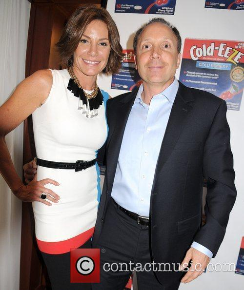 Countess LuAnn de Lesseps and Ted Karkus, CEO...
