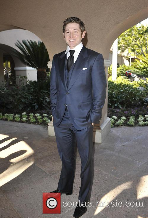 Lucas Neff heading to the Langham for the...