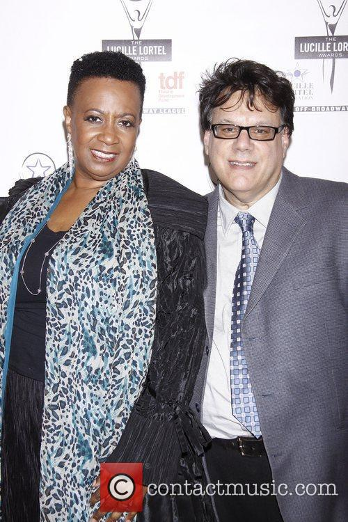 Miche Braden and Guest The 2012 Lucille Lortel...