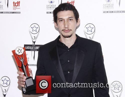 Adam Driver  The 2012 Lucille Lortel Awards...