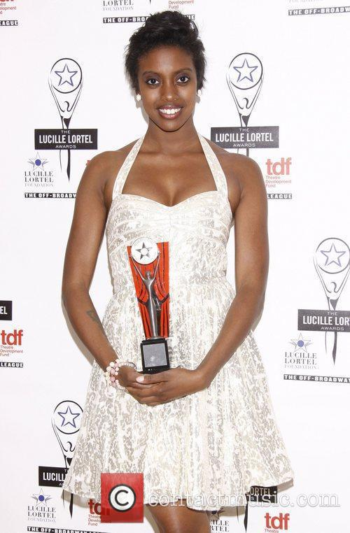 Condola Rashad  The 2012 Lucille Lortel Awards...