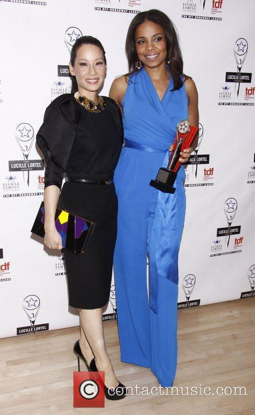 Lucy Liu and Sanaa Lathan  The 2012...