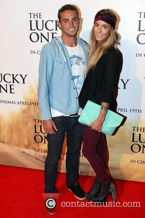 Guests Australian premiere of 'The Lucky One' at...