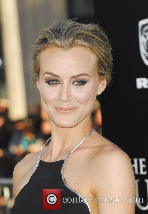 Taylor Schilling and Grauman's Chinese Theatre 10