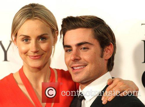 Taylor Schilling and Zac Efron 1