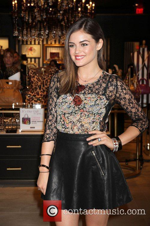 Lucy Hale and The Fashion 4
