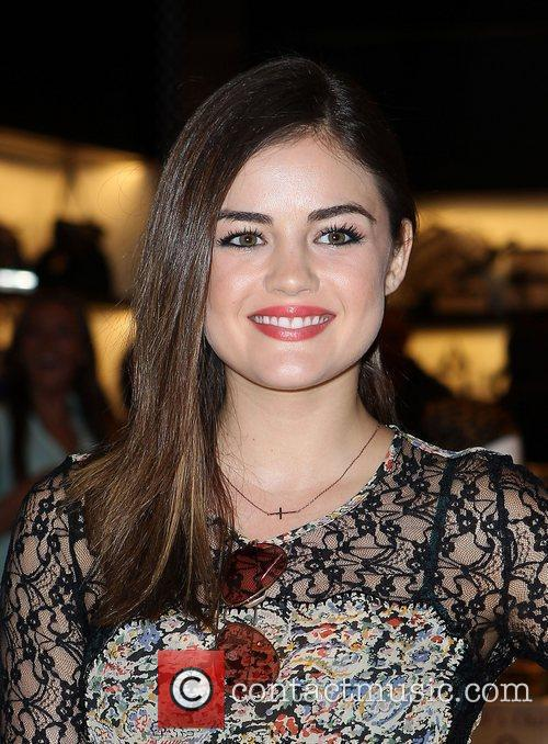 Lucy Hale and The Fashion 14