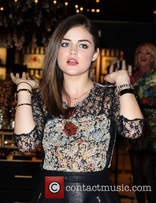 Lucy Hale and The Fashion 19