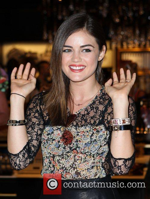 Lucy Hale and The Fashion 21