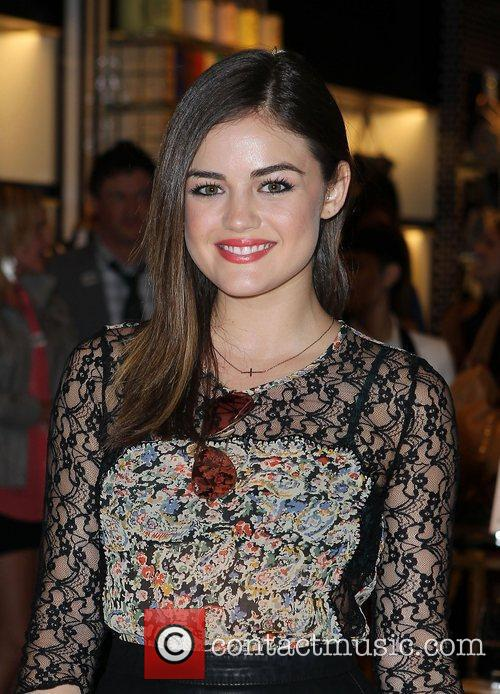 Lucy Hale and The Fashion 22
