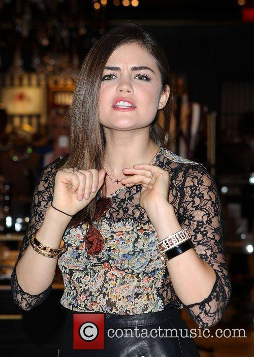 Lucy Hale and The Fashion 24