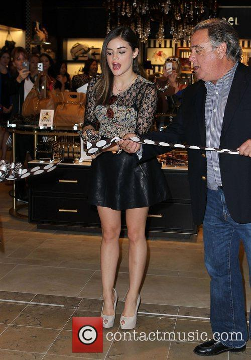Lucy Hale and The Fashion 36