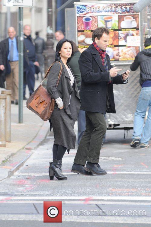 Lucy Liu and Cbs 11