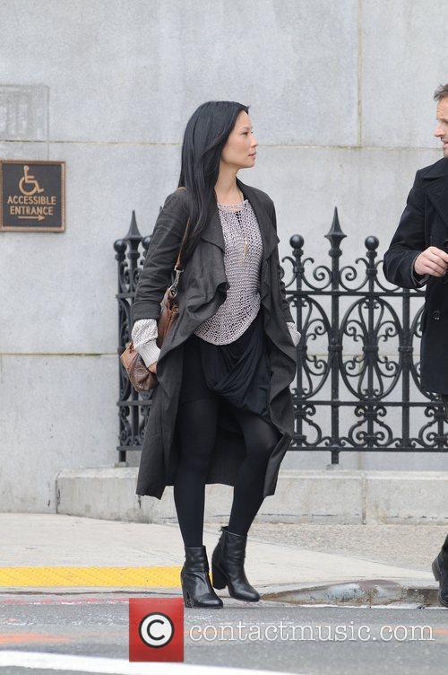 Lucy Liu and CBS 15