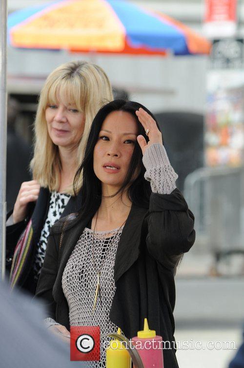 Lucy Liu and CBS 16