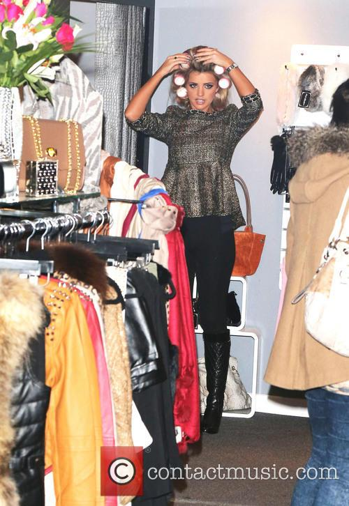 Lucy Mecklenburgh Boutique opening  Featuring: Lucy Mecklenburgh Where:...