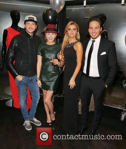 Lucy Mecklenburgh Boutique opening  Featuring: Tom Kilbey,...