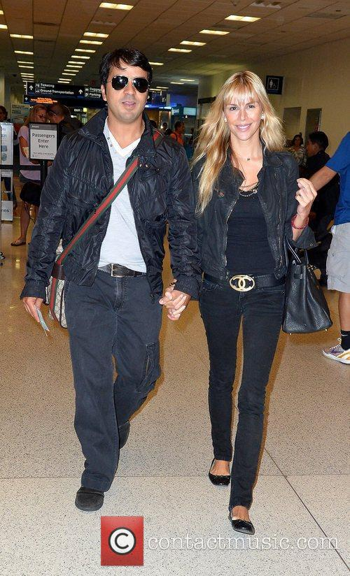 Luis Fonsi and Agueda Lopez are sighted at...