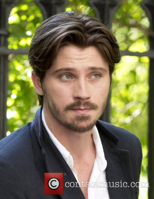 Garrett Hedland filming on Location for new movie...