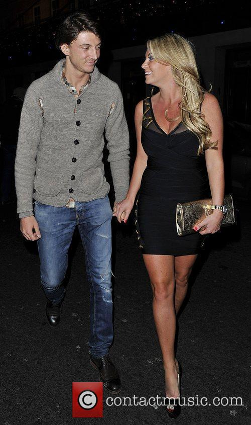 Billi Mucklow and Tom Kilbey from TOWIE leaving...