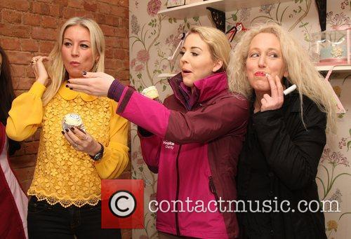 Denise Van Outen and Lydia 9