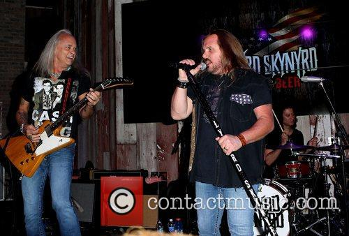 Rickey Medlocke and Johnny Van Zant Lynyrd Skynyrd