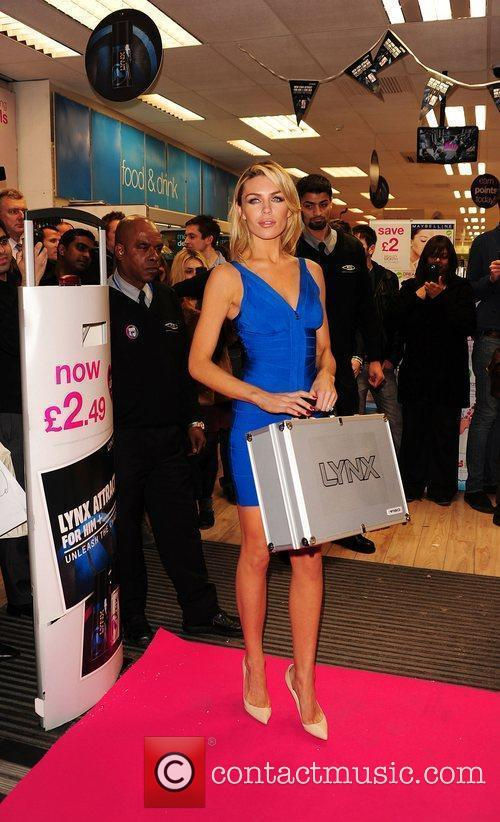 Lynx's first female fragrance 'Attract For Her' photocall...