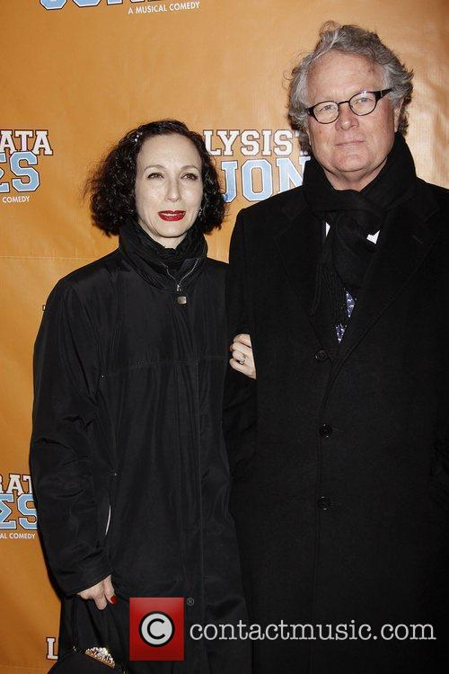 Bebe Neuwirth and Chris Calkins  Broadway opening...
