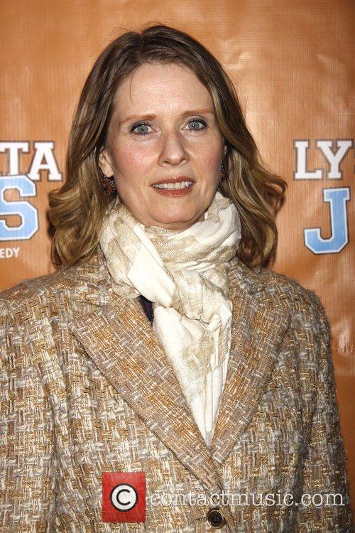 Cynthia Nixon  Broadway opening night of 'Lysistrata...