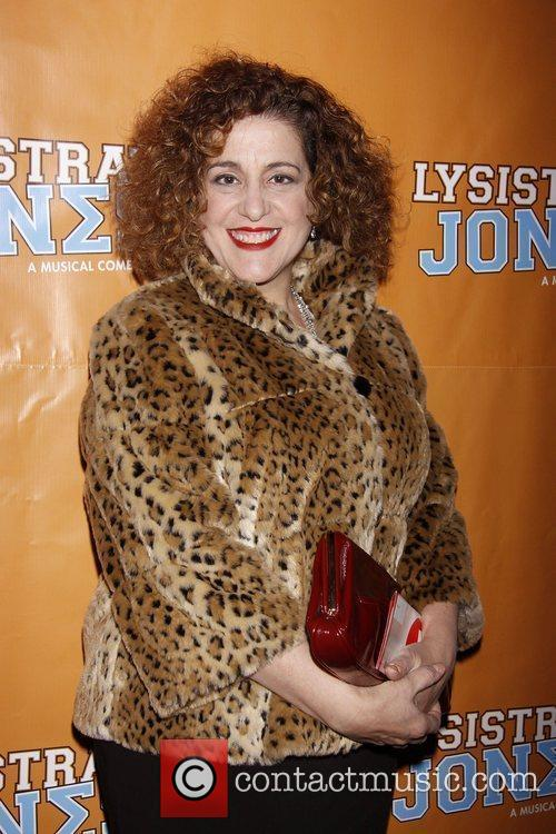 Mary Testa  Broadway opening night of 'Lysistrata...