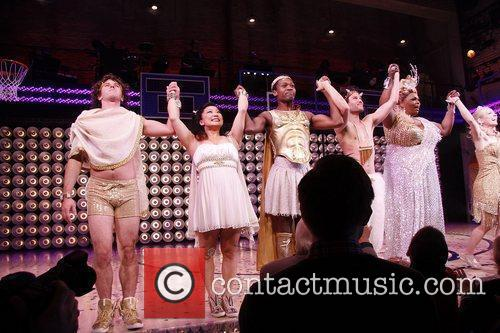 Jason Tam, Liz Mikel, Patti Murin and cast...