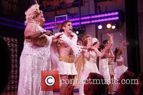 Broadway opening night of 'Lysistrata Jones' at the...
