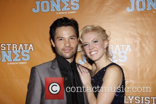 Jason Tam and Patti Murin  Broadway opening...