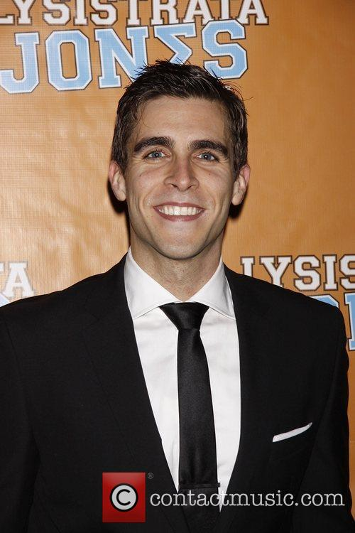Josh Segarra  Broadway opening night after party...