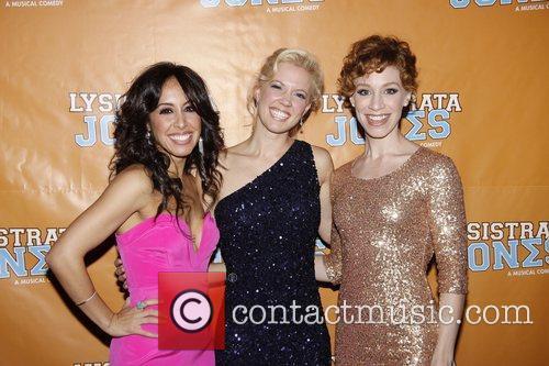Kat Nejat, Patti Murin and Lindsay Nicole Chambers...