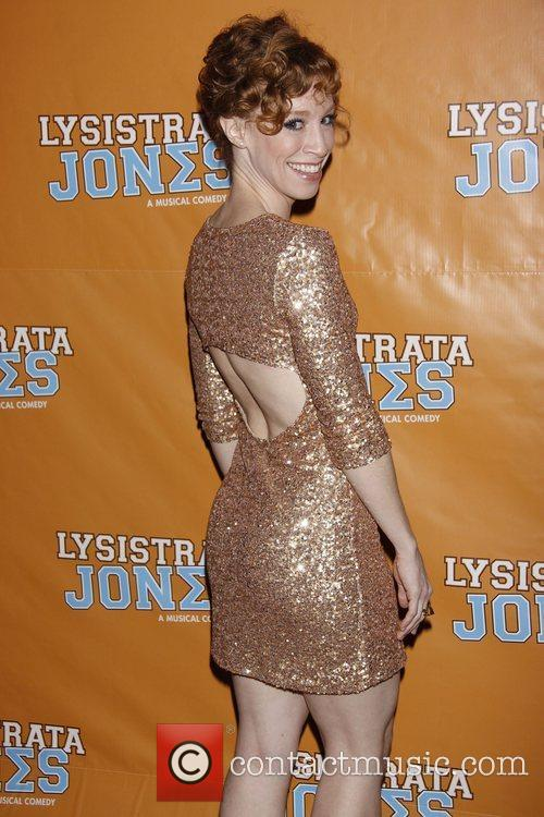 Lindsay Nicole Chambers  Broadway opening night after...