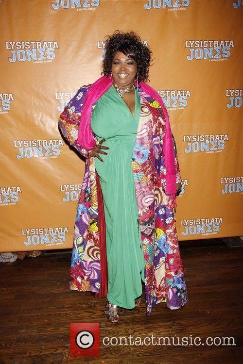 Broadway opening night after party for 'Lysistrata Jones'...