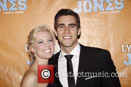 Patti Murin and Josh Segarra  Broadway opening...