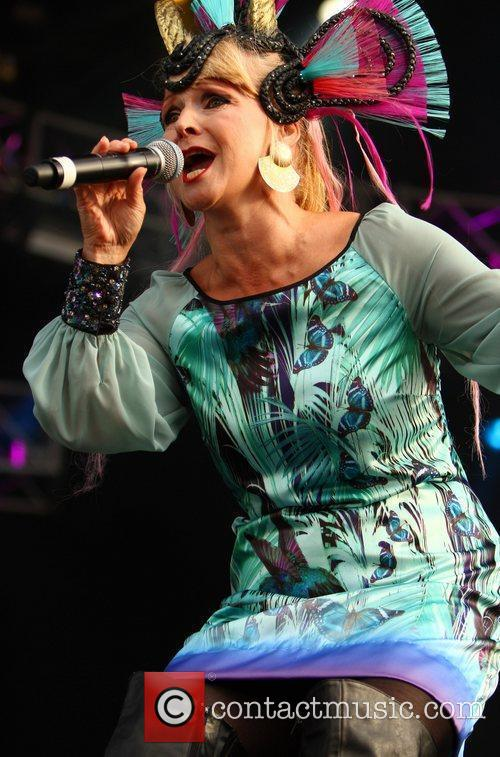 Toyah Willcox Lytham Proms Festival Weekend 2012 in...