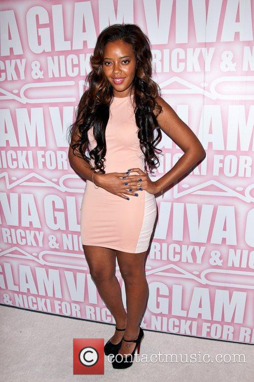 Angela Simmons and Viva Glam Party 2